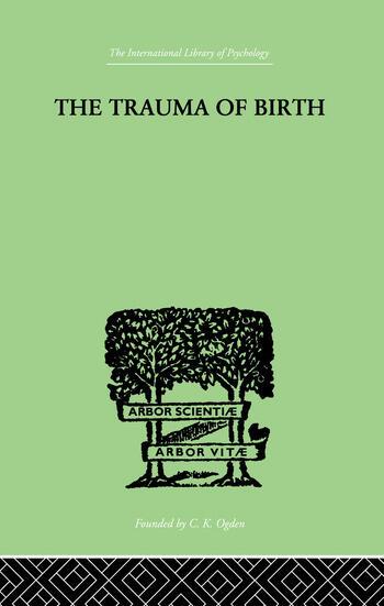 The Trauma Of Birth book cover