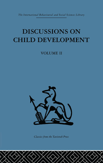 Discussions on Child Development Volume two book cover