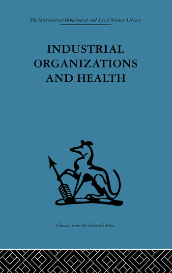 Industrial Organizations and Health book cover