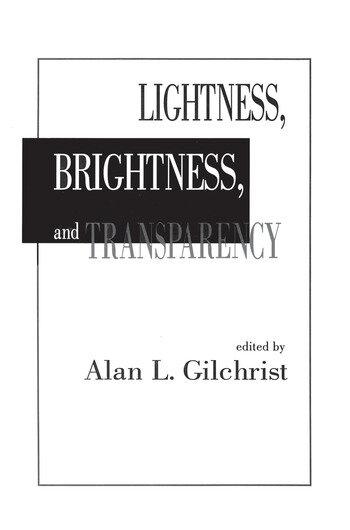 Lightness, Brightness and Transparency book cover
