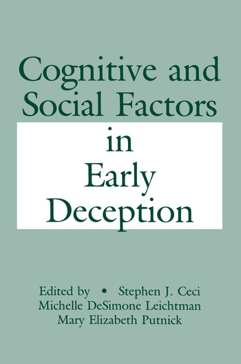 Cognitive and Social Factors in Early Deception book cover
