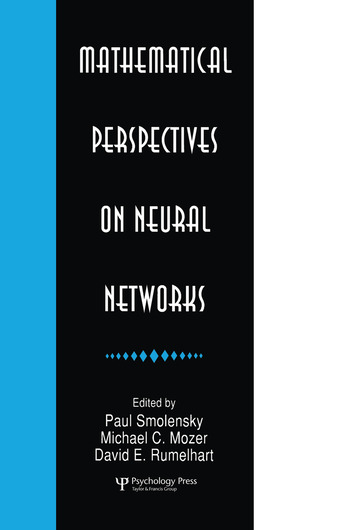 Mathematical Perspectives on Neural Networks book cover