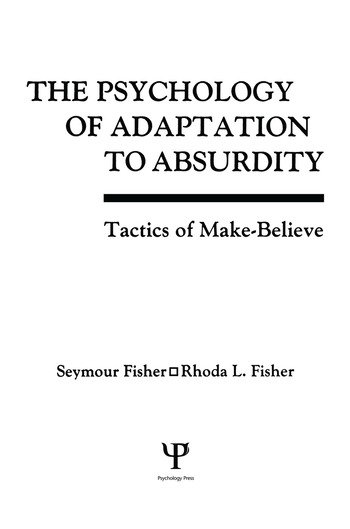 The Psychology of Adaptation To Absurdity Tactics of Make-believe book cover