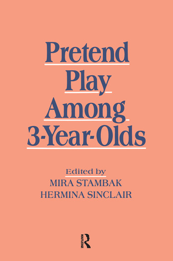 Pretend Play Among 3-year-olds book cover
