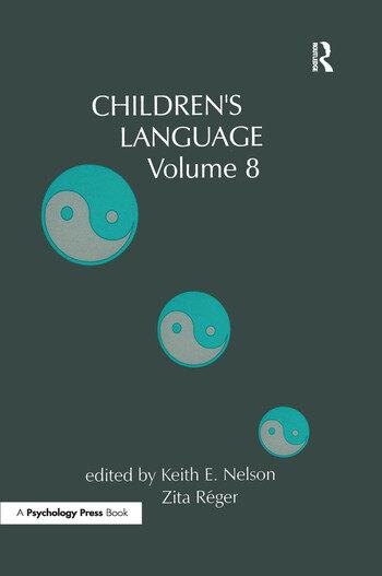 Children's Language Volume 8 book cover