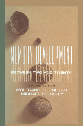 Memory Development Between Two and Twenty book cover