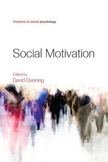 Social Motivation book cover