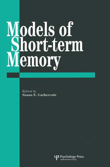 Models Of Short-Term Memory book cover