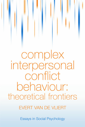 Complex Interpersonal Conflict Behaviour Theoretical Frontiers book cover