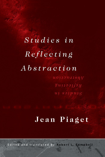 Studies in Reflecting Abstraction book cover