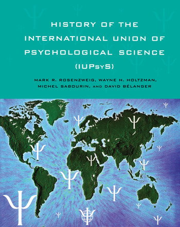 History of the International Union of Psychological Science (IUPsyS) book cover