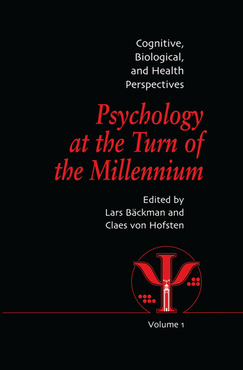 Psychology at the Turn of the Millennium, Volume 1 Cognitive, Biological and Health Perspectives book cover