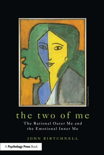 The Two of Me The Rational Outer Me and the Emotional Inner Me book cover