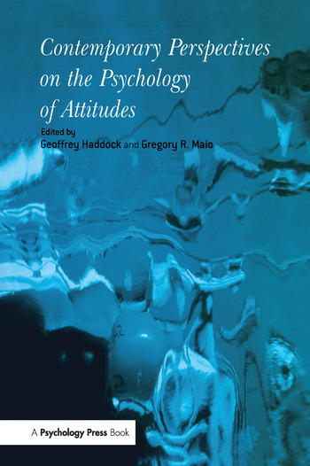 Contemporary Perspectives on the Psychology of Attitudes book cover