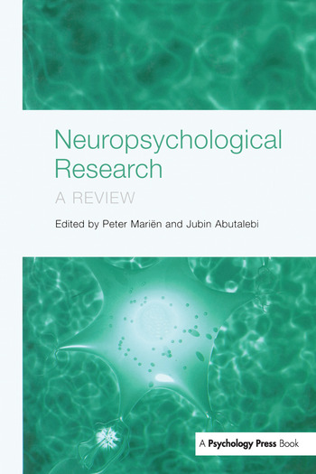 Neuropsychological Research A Review book cover