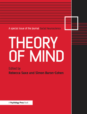 Theory of Mind A Special Issue of Social Neuroscience book cover