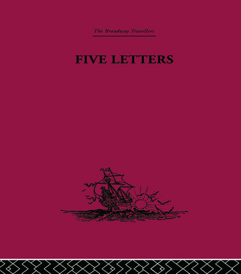 Five Letters 1519-1526 book cover