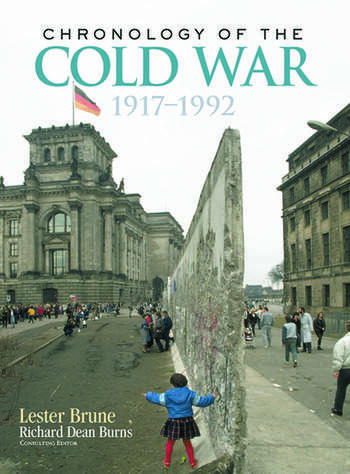 Chronology of the Cold War 1917–1992 book cover