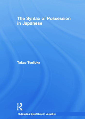 The Syntax of Possession in Japanese book cover