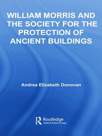 William Morris and the Society for the Protection of Ancient Buildings book cover