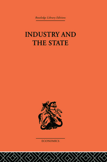 Industry and the State book cover
