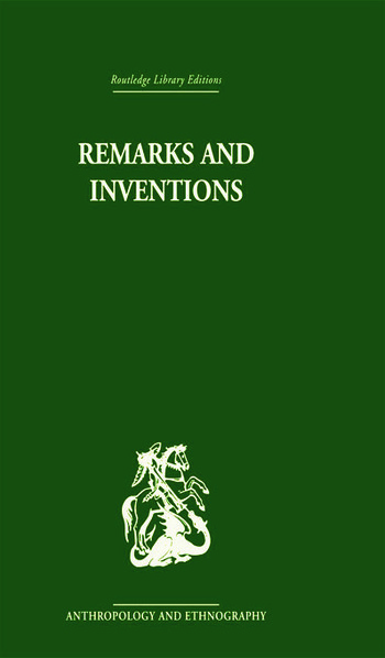 Remarks and Inventions Skeptical Essays about Kinship book cover