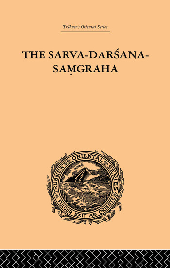 The Sarva-Darsana-Pamgraha Or Review of the Different Systems of Hindu Philosophy book cover