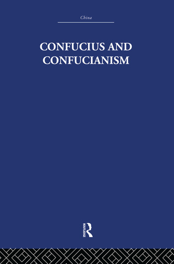 Confucius and Confucianism book cover