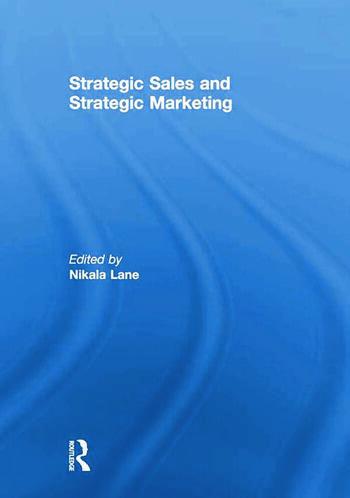 Strategic Sales and Strategic Marketing book cover