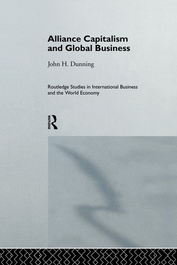 Alliance Capitalism and Global Business book cover