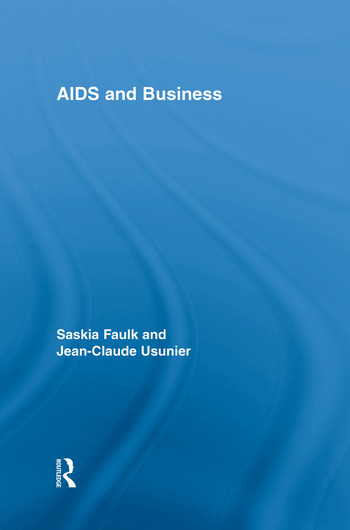 AIDS and Business book cover