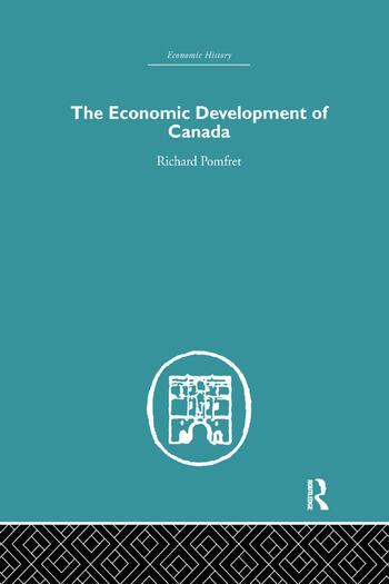 The Economic Development of Canada book cover
