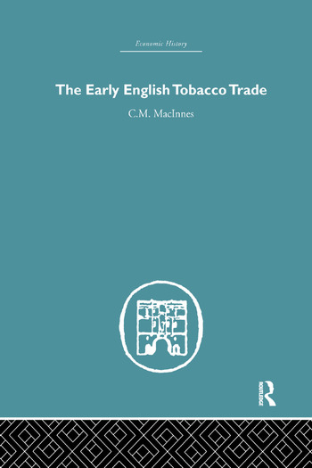 The Early English Tobacco Trade book cover