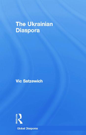 The Ukrainian Diaspora book cover