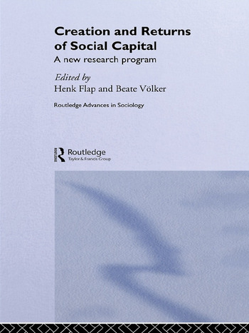 Creation and Returns of Social Capital book cover