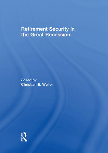 Retirement Security in the Great Recession book cover