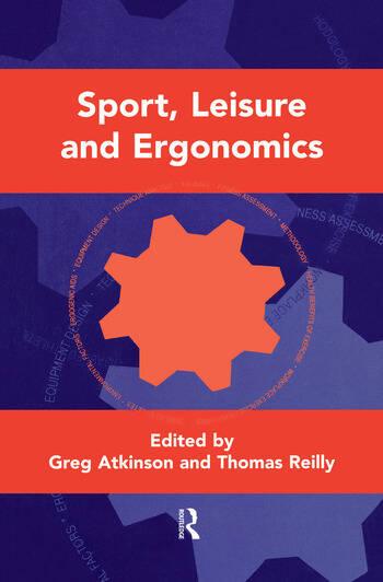 Sport, Leisure and Ergonomics book cover