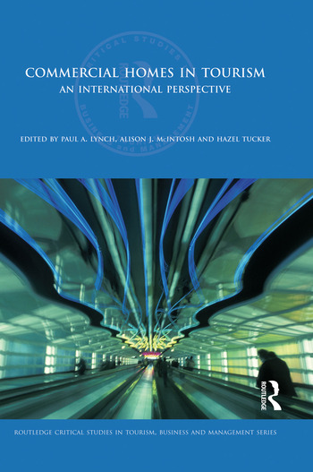 Commercial Homes in Tourism An International Perspective book cover