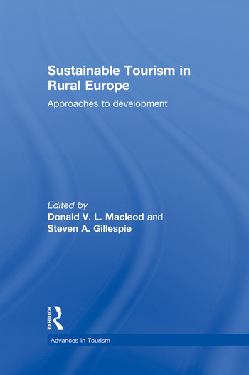 Sustainable Tourism in Rural Europe Approaches to Development book cover