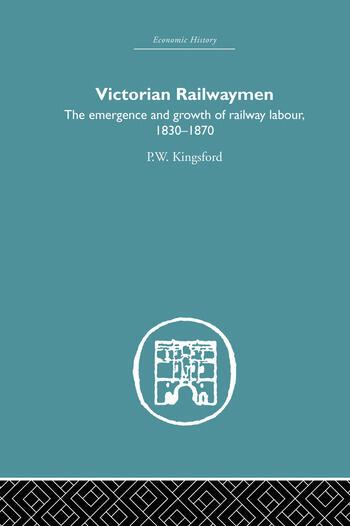 Victorian Railwaymen book cover