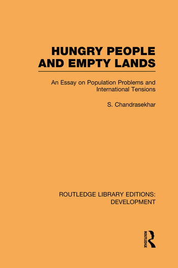 Hungry People and Empty Lands An Essay on Population Problems and International Tensions book cover