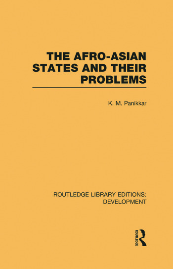 The Afro-Asian States and their Problems book cover