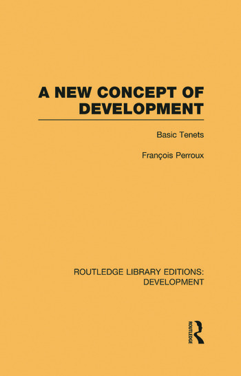 A New Concept of Development Basic Tenets book cover