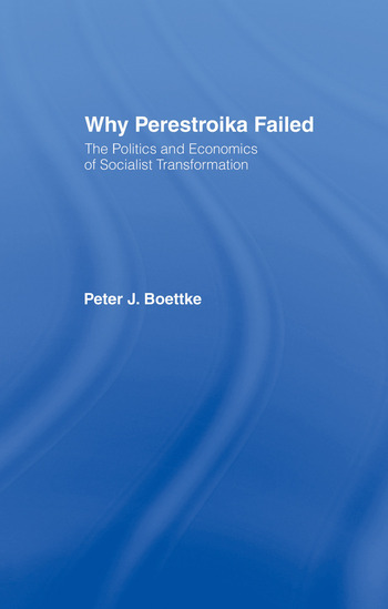 Why Perestroika Failed book cover