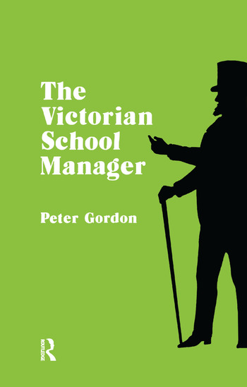 Victorian School Manager book cover