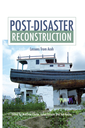 Post-Disaster Reconstruction Lessons from Aceh book cover