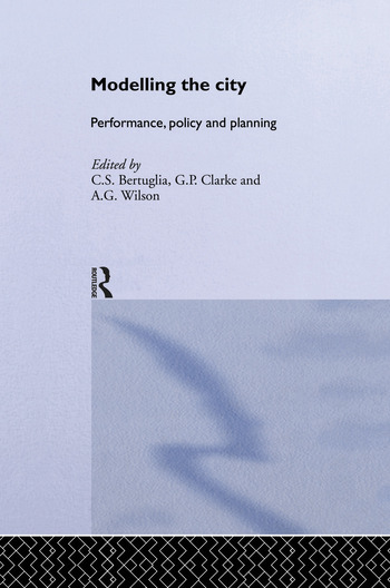 Modelling the City Performance, Policy and Planning book cover