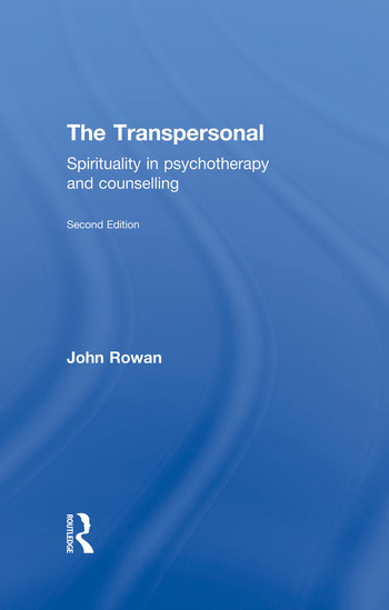 The Transpersonal Spirituality in Psychotherapy and Counselling book cover