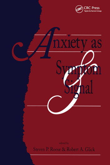 Anxiety as Symptom and Signal book cover