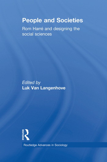 People and Societies Rom Harré and Designing the Social Sciences book cover